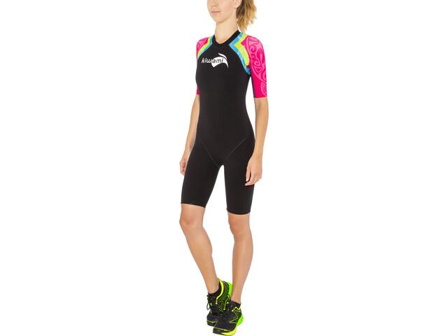 KiWAMi Aqua Rush Speedsuit Women black/rainbow